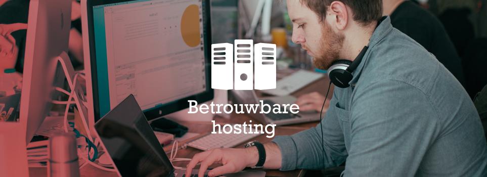 Betrouwbare webhosting